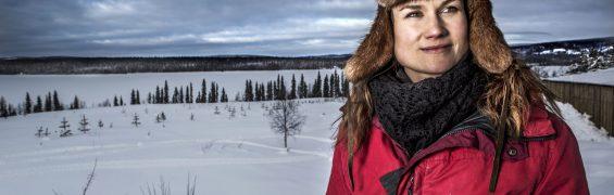 Storuman forever 2018 Bildtext: Heidi Andersson. Foto: Janne Danielsson/SVT Bilden får endast användas i programpresenterande sammanhang. Fotografens namn, Sveriges Television samt programmets titel skall alltid anges.